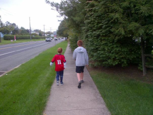 Boys on a Walk copy
